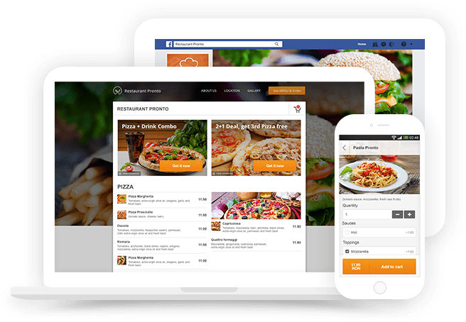 grubhub alternative: free online ordering for your website and facebook page