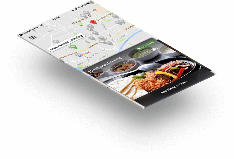 restaurant ordering app android and ios