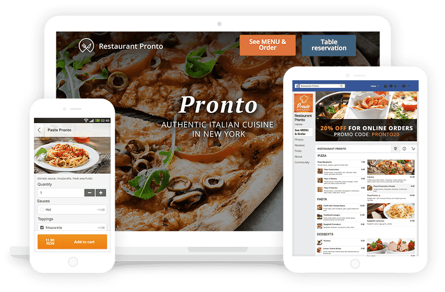 free online ordering system for restaurants