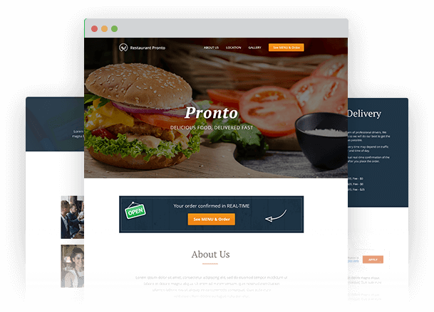 Joomla food ordering system for restaurants