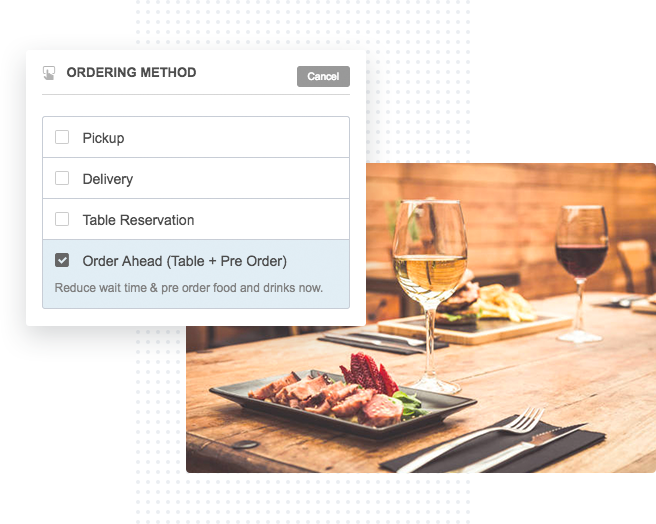 Free Restaurant Booking Software With Food PreOrdering - Restaurant table management software free