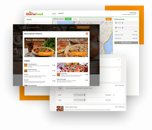About our all in one restaurant ordering system