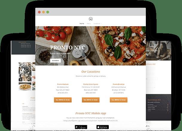 Free food menu maker for multiple locations