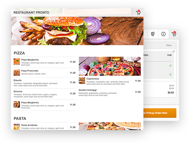 Restaurant menu builder for wordpress