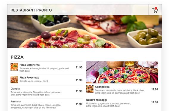 create restaurant menu online free